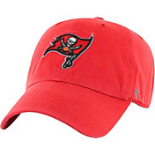 '47 Men's Tampa Bay Buccaneers Clean Up Red Adjustable Hat