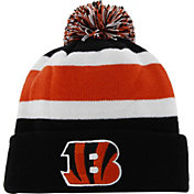 47 Men's Cincinnati Bengals Breakaway Cuffed Black Knit Hat
