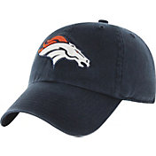 2bc6d8321d8 Product Image ·  47 Men s Denver Broncos Navy Clean Up Adjustable Hat ·