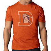 '47 Men's Denver Broncos Throwback Scrum Logo T-Shirt