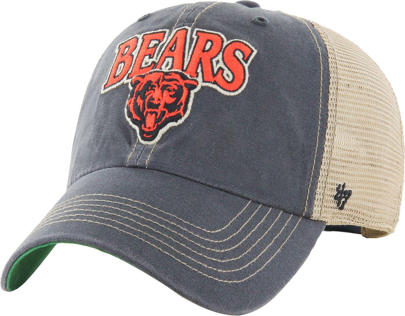 '47 Men's Chicago Bears Vintage Tuscaloosa Navy Adjustable Hat