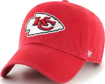 409ed7357f6 47 Men s Kansas City Chiefs Red Clean Up Adjustable Hat