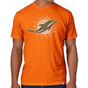 '47 Men's Miami Dolphins Scrum Logo T-Shirt