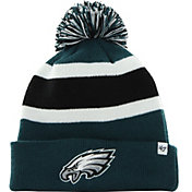 '47 Men's Philadelphia Eagles Breakaway Cuffed Green Knit Hat