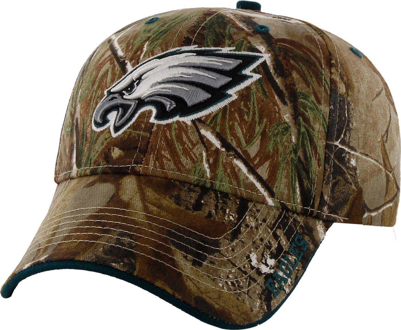 '47 Men's Philadelphia Eagles Frost Realtree Adjustable Camo Hat