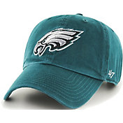 '47 Men's Philadelphia Eagles Green Clean Up Adjustable Hat