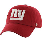 '47 Men's New York Giants Clean Up Red Adjustable Hat