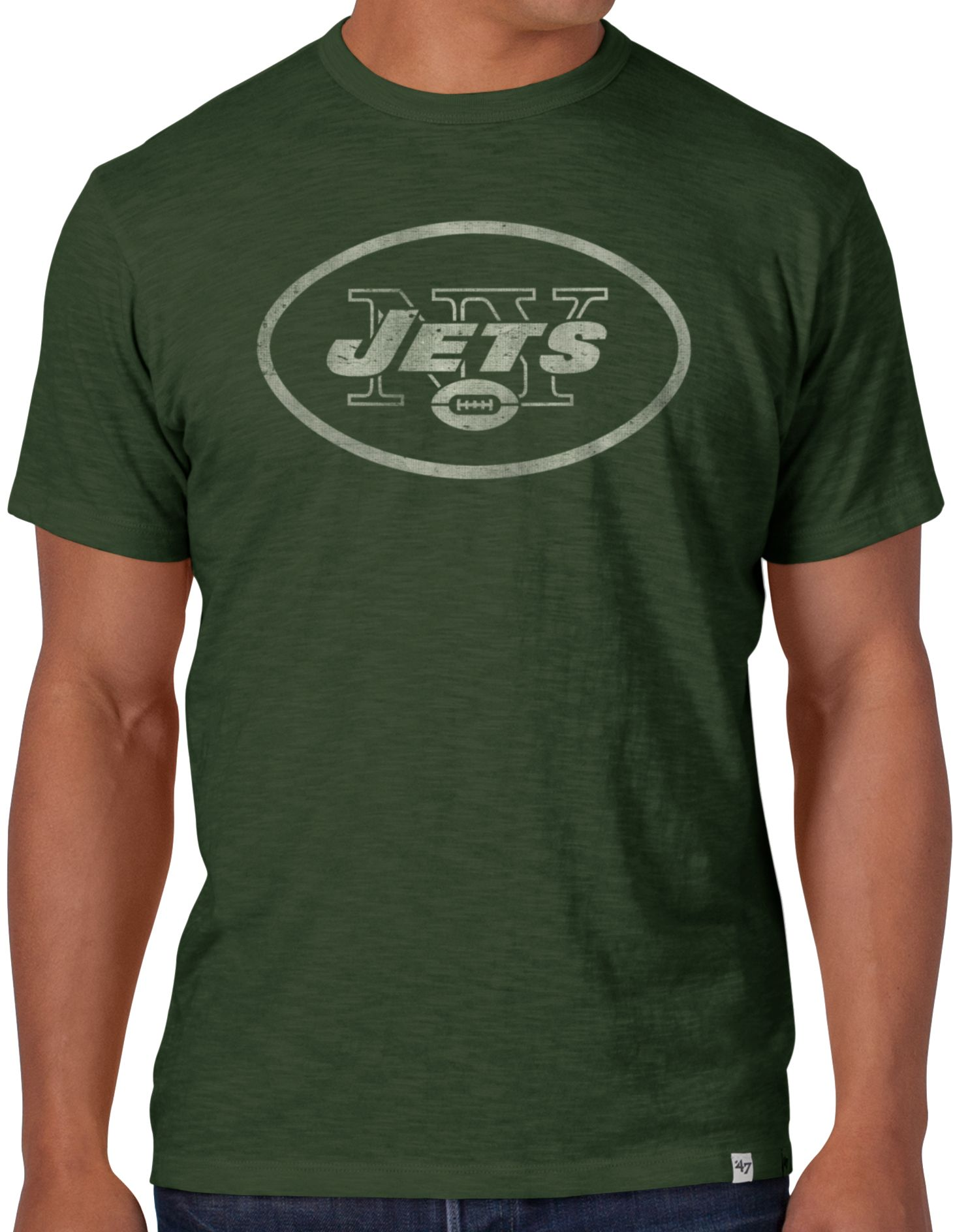 47 Mens New York Jets Scrum Logo T Shirt Dicks Sporting Goods