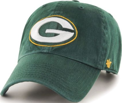0c275089 '47 Men's Green Bay Packers Green Clean Up Adjustable Hat