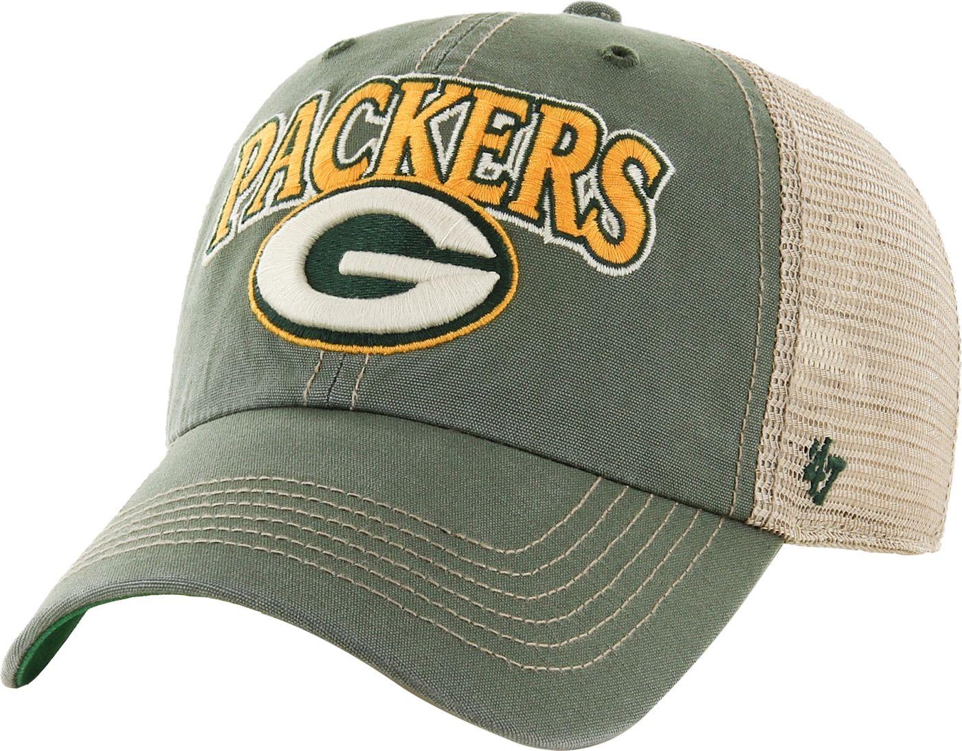 '47 Men's Green Bay Packers Vintage Tuscaloosa Green Adjustable Hat