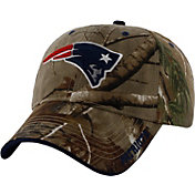 '47 Men's New England Patriots Frost Realtree Adjustable Camo Hat