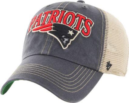 47 Men s New England Patriots Vintage Tuscaloosa Navy Adjustable Hat ... 3f30988109b