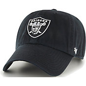 47 Men's Las Vegas Raiders Black Clean Up Adjustable Hat