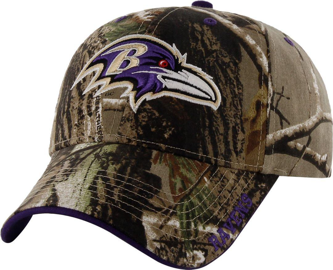 91facba6 '47 Men's Baltimore Ravens Frost Realtree Adjustable Camo Hat