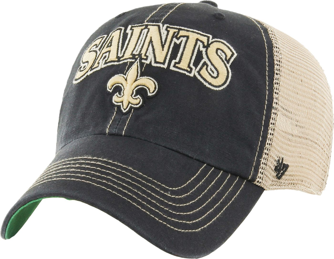 '47 Men's New Orleans Saints Vintage Tuscaloosa Black Adjustable Hat