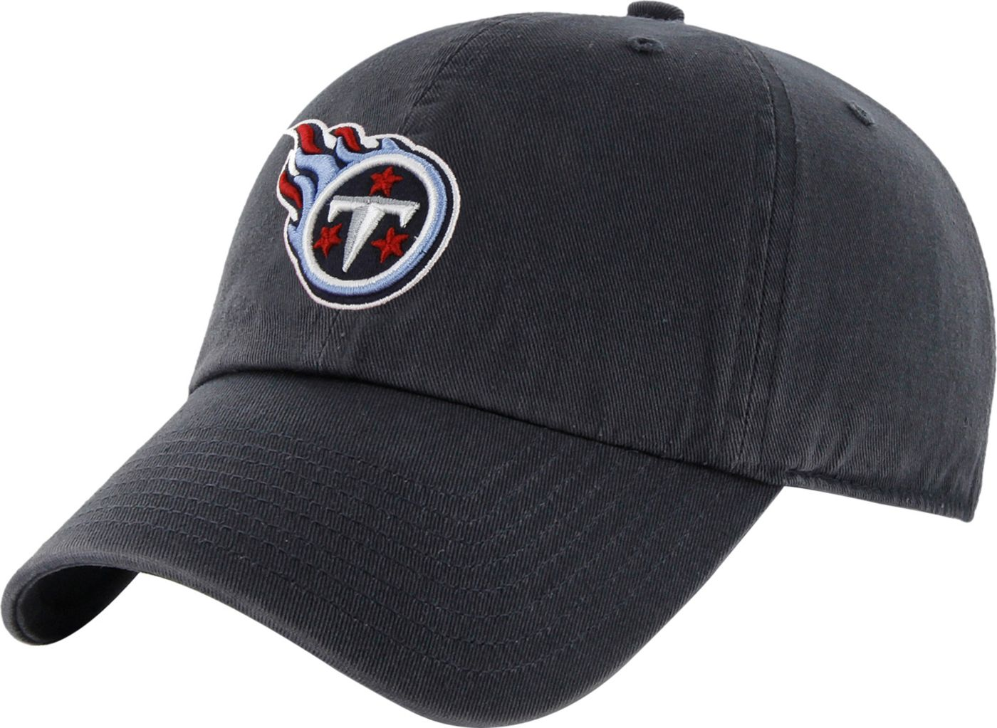 '47 Men's Tennessee Titans Navy Clean Up Adjustable Hat