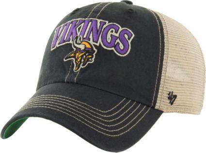 5098c66710b20 47 Men s Minnesota Vikings Vintage Tuscaloosa Black Adjustable Hat ...