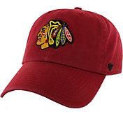 47 Men's Chicago Blackhawks Garment Washed Red Adjustable Hat