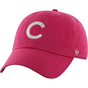 '47 Women's Chicago Cubs Pink Clean Up Adjustable Hat