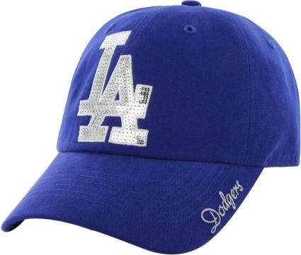 ... Los Angeles Dodgers Sparkle Royal Adjustable Hat. noImageFound f8e3b2055