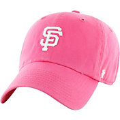 '47 Women's San Francisco Giants Pink Clean Up Adjustable Hat
