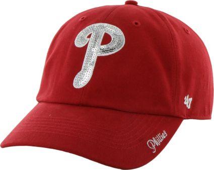 ... Philadelphia Phillies Sparkle Red Adjustable Hat. noImageFound f3139bea9