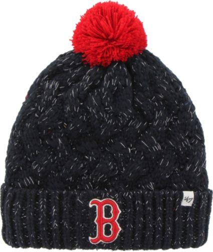47 Women s Boston Red Sox Fiona Navy Cuffed Knit  e99b48f5e94
