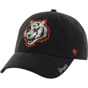 '47 Women's Cincinnati Bengals Sparkle Adjustable Black Hat