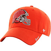 '47 Women's Cleveland Browns Sparkle Logo Brown Adjustable Hat