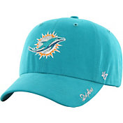 '47 Women's Miami Dolphins Sparkle Aqua Adjustable Hat