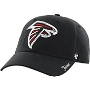 '47 Women's Atlanta Falcons Sparkle Adjustable Black Hat