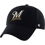 '47 Youth Milwaukee Brewers Basic Navy Adjustable Hat