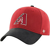 '47 Toddler Arizona Diamondbacks Short Stack MVP Black/Red Adjustable Hat