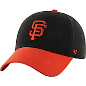 '47 Youth San Francisco Giants Short Stack MVP Black/Orange Adjustable Hat