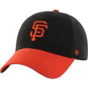 '47 Youth San Francisco Giants Short Stack MVP Black/Orange Adjustable Hat