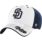 '47 Youth San Diego Padres Revolution MVP White/Navy Adjustable Hat