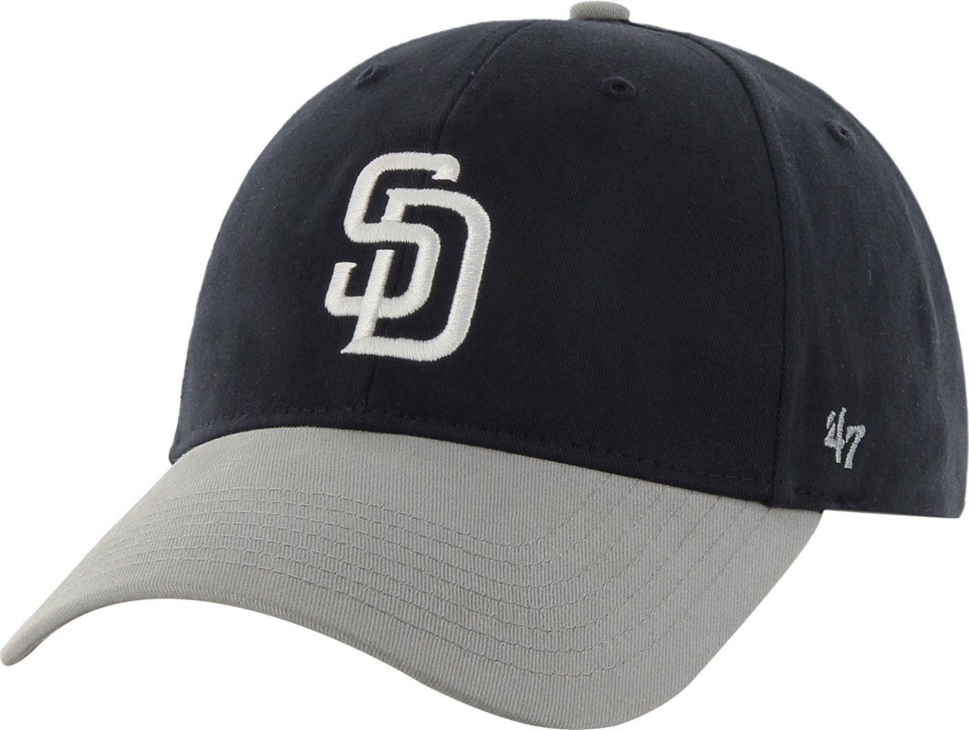 '47 Youth San Diego Padres Short Stack MVP Navy/Grey Adjustable Hat