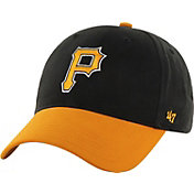 '47 Youth Pittsburgh Pirates Short Stack MVP Black/Gold Adjustable Hat