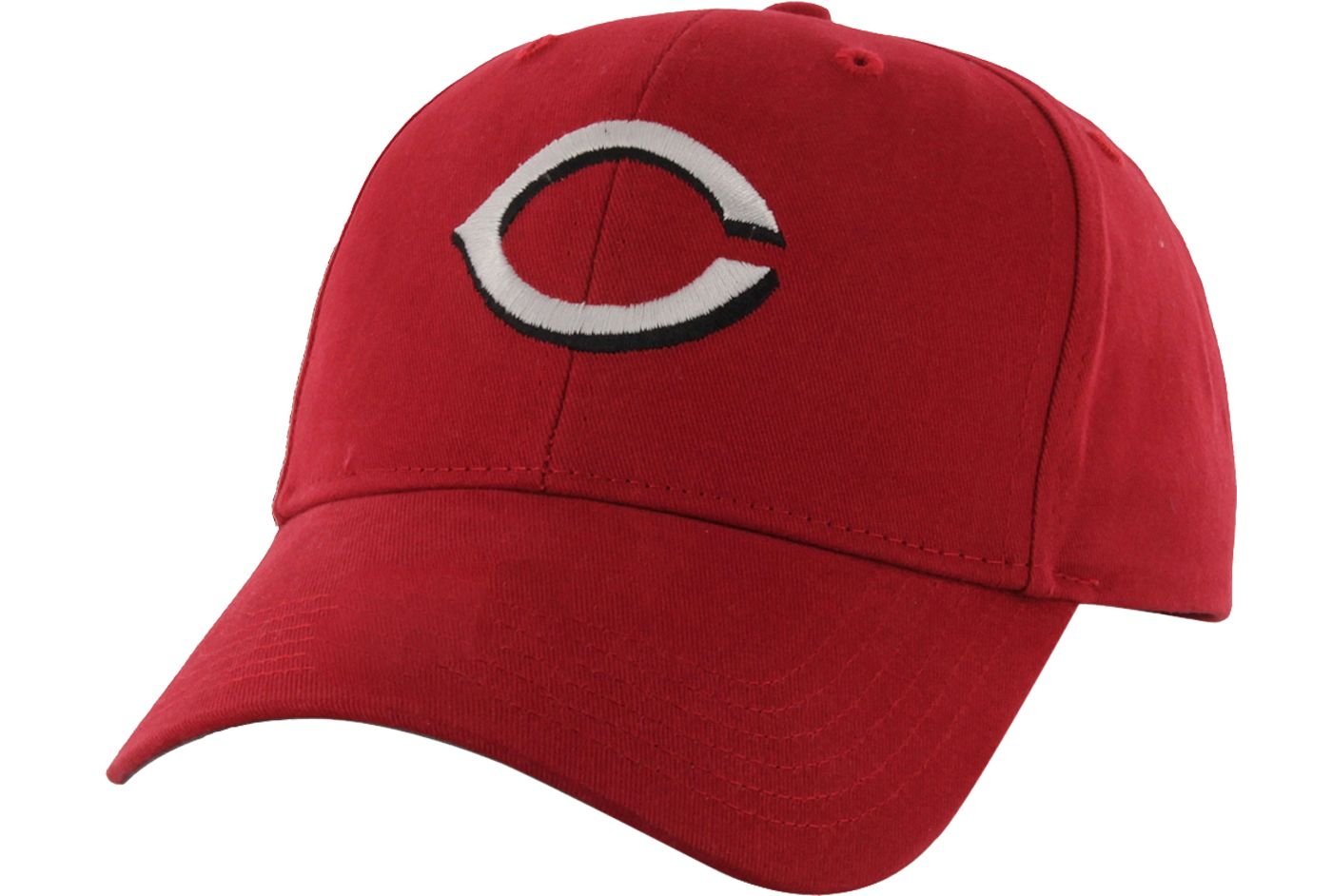 '47 Youth Cincinnati Reds Basic Red Adjustable Hat