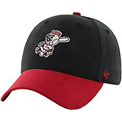 '47 Toddler Cincinnati Reds Short Stack MVP Red/Black Adjustable Hat