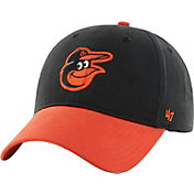 '47 Youth Baltimore Orioles Short Stack MVP Black/Orange Adjustable Hat