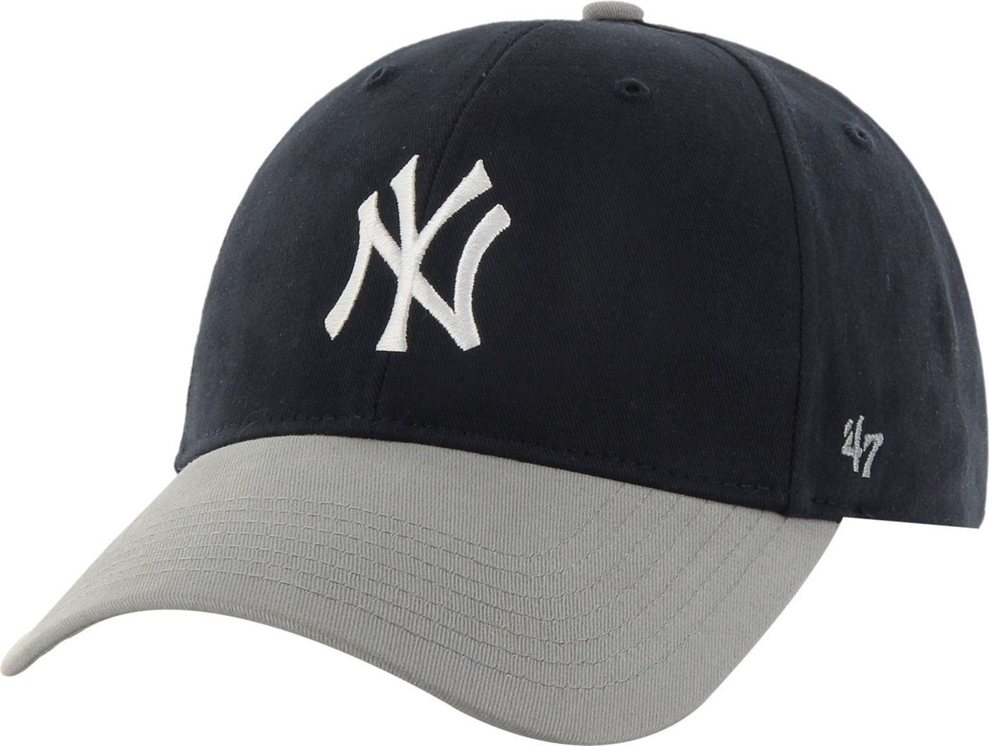 '47 Youth New York Yankees Short Stack MVP Navy/Grey Adjustable Hat