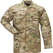 5.11 Tactical Men's Ripstop MultiCam TDU Long Sleeve Shirt - Big & Tall