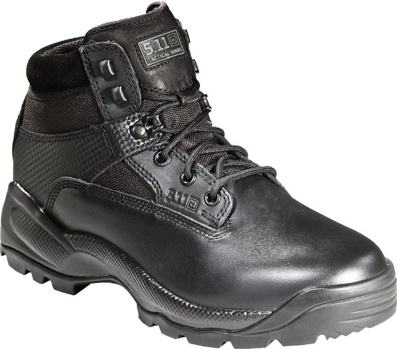 "5.11 Tactical Men's A.T.A.C. 6"" Tactical Boots, Black thumbnail"