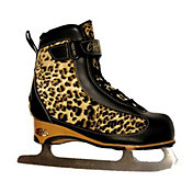 American Athletic Shoe Women's Soft Boot Cheetah Figure Skate