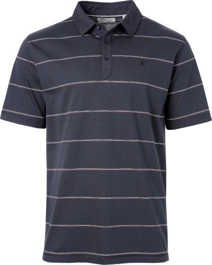Linksoul Multi Color Micro Stripe Yarn Dyed Stripe Polo