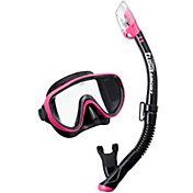TUSA Sport Adult Serene Black Series Snorkeling Combo