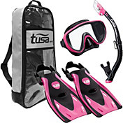 TUSA Sport Adult Serene Black Series Snorkeling Set