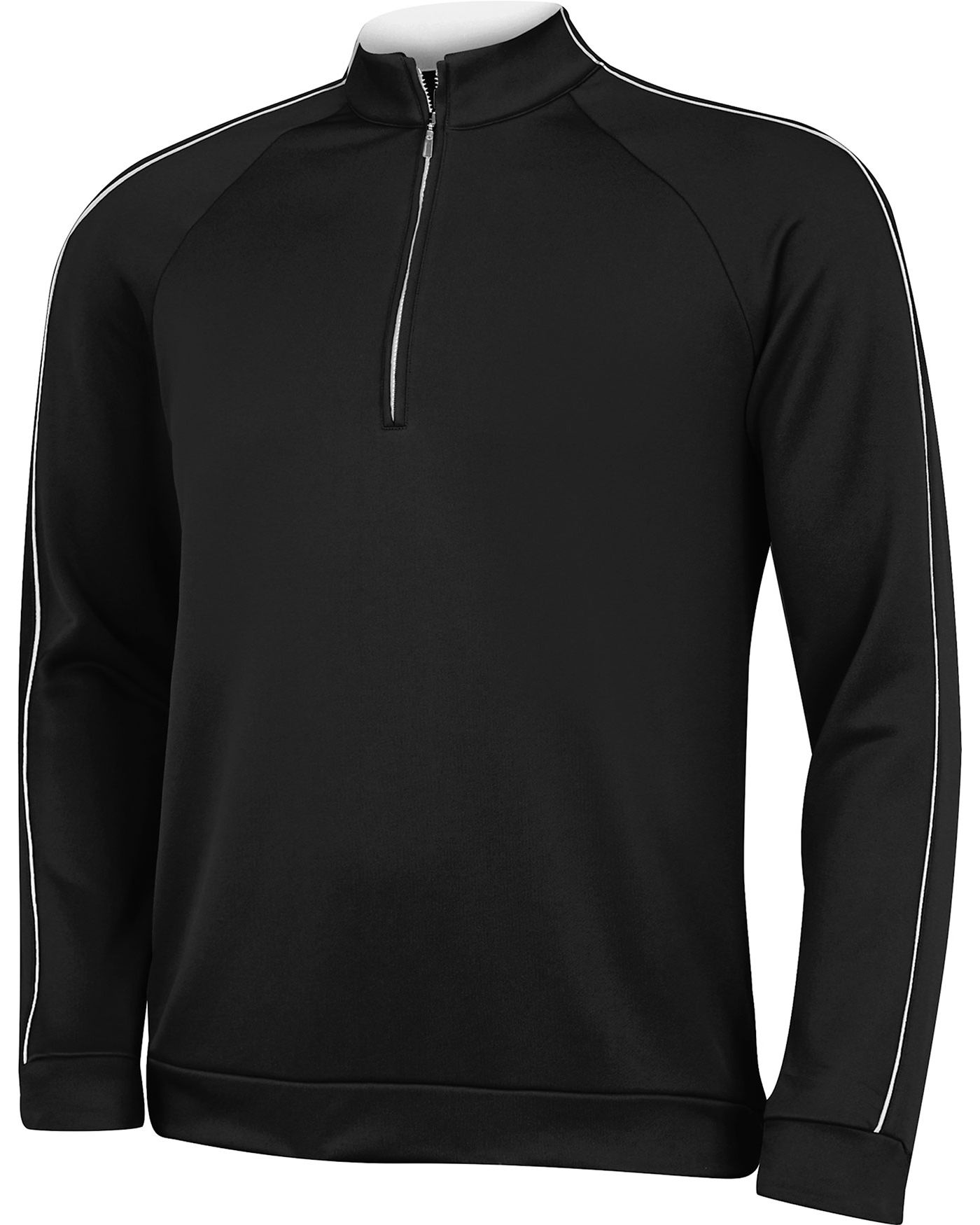 adidas Boys' 3-Stripes Piped 1/4-Zip Pullover