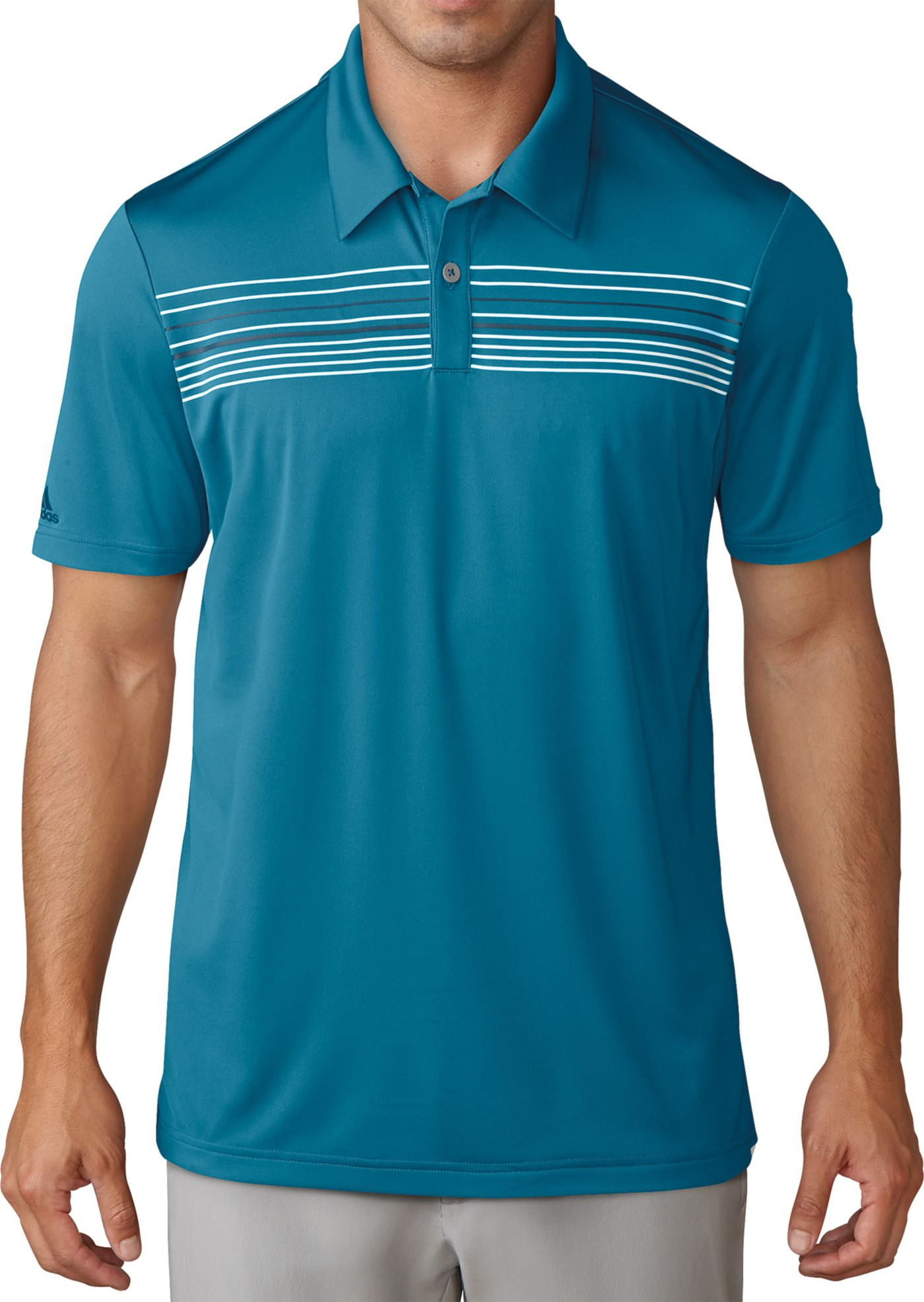 adidas climacool Chest Stripe Polo